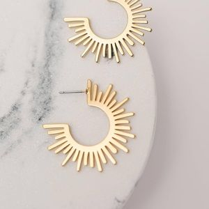 18k gold plated VICI Earrings